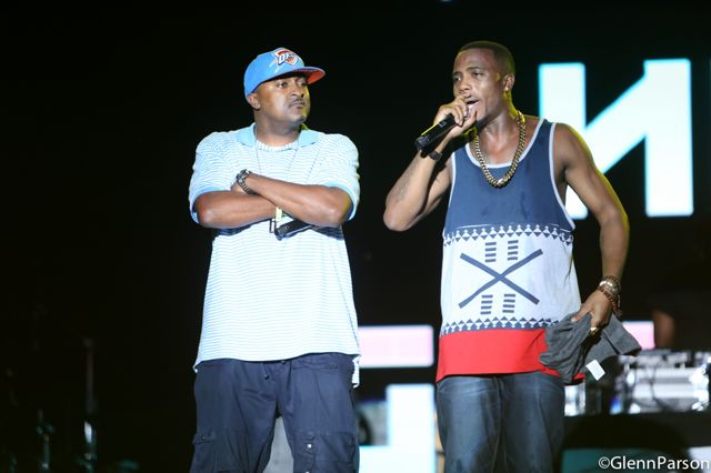 B.o.B Performs At FunkFest