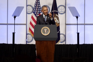 President Obama at NAACP