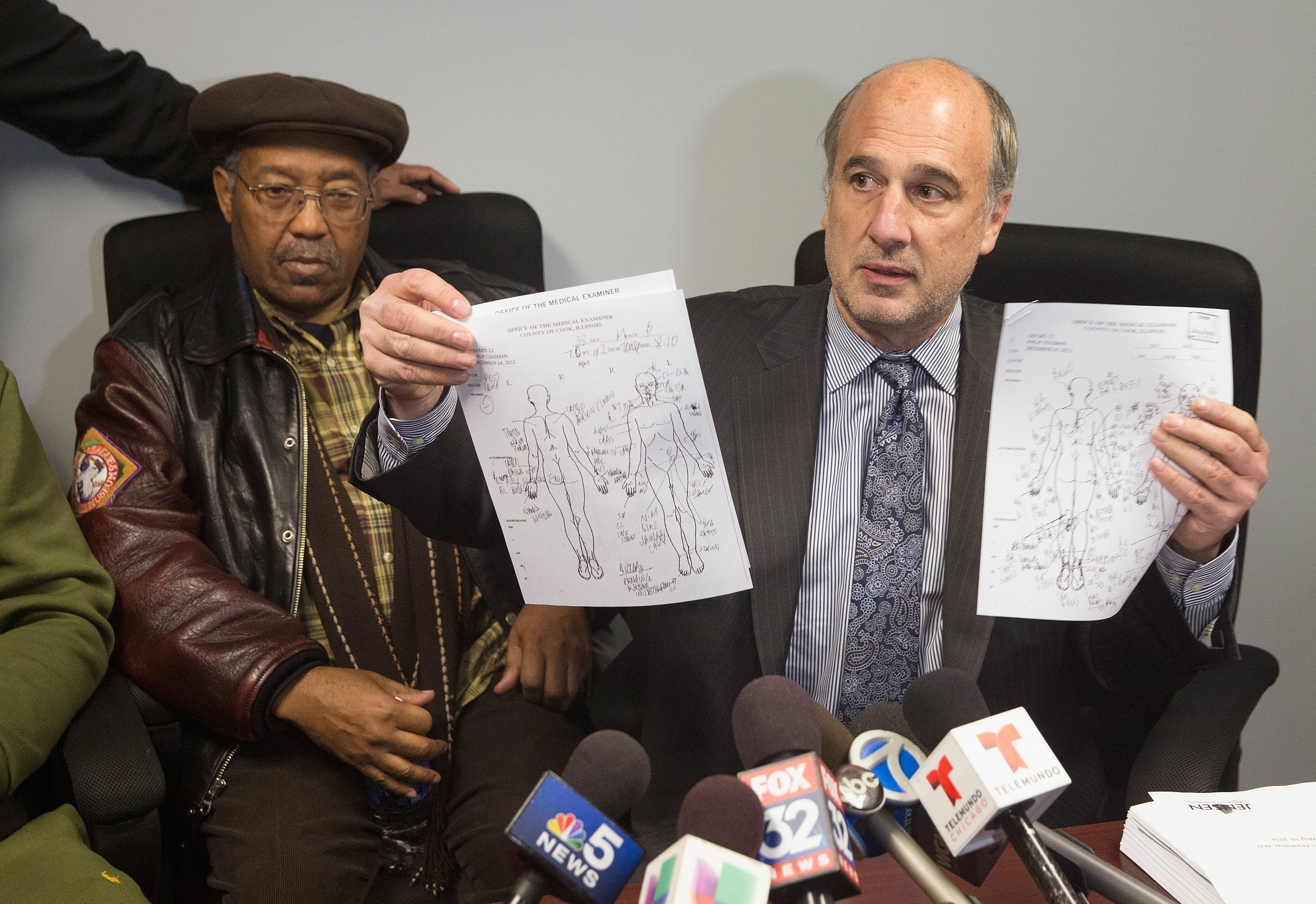 Family And Lawyer Representing Phillip Coleman Hold News Conference After Chicago PD Video Released
