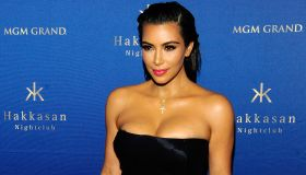 Kim Kardashian West Hosts At Hakkasan Las Vegas Nightclub