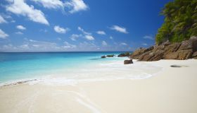 Tropical beach, Seychelles, Indian Ocean, Africa