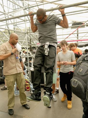 2013 Budweiser Made In America Festival - Day 2 - Backstage