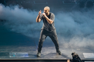 Drake Performs At First Direct Arena