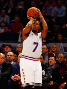 Kyle Lowry at 2015 NBA All-Star game
