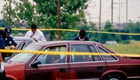 DC Police At Murder Scene