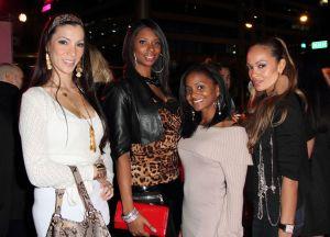 Celebrities Attend Boca Tanning Club Opening