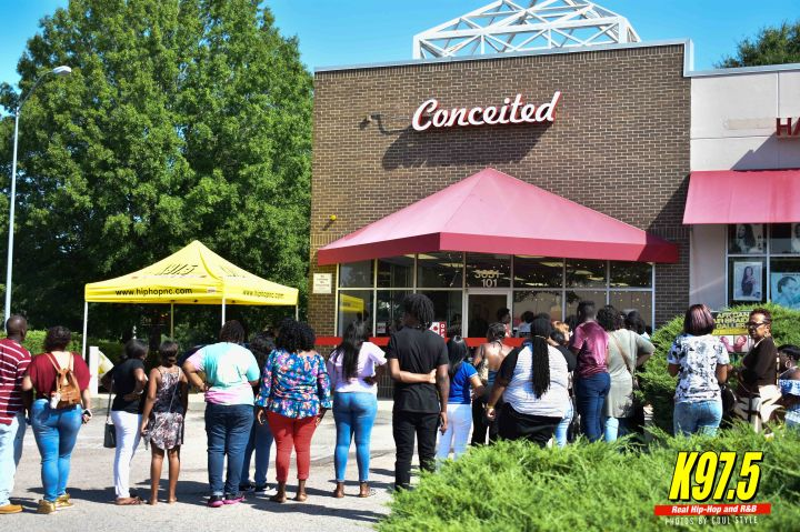 Remy Ma at the grand opening of Conceited