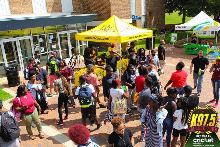 K97.5 College Tour: St. Augustine University