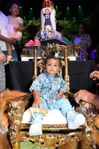 Asahd Khaled's 1st Birthday part | LIV