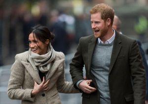 Prince Harry and Meghan Markle Visit Reprezent