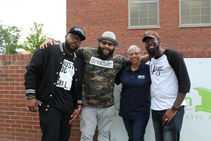 2018 Bimbe Block Party with the Hamiltones