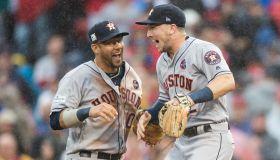 Divisional Round - Houston Astros v Boston Red Sox - Game Four