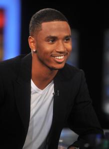 Trey Songz Visits America's Nightly Scoreboard On FOX Business Network