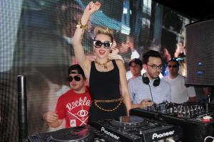 Miley Cyrus Attends Mackapalooza In South Beach