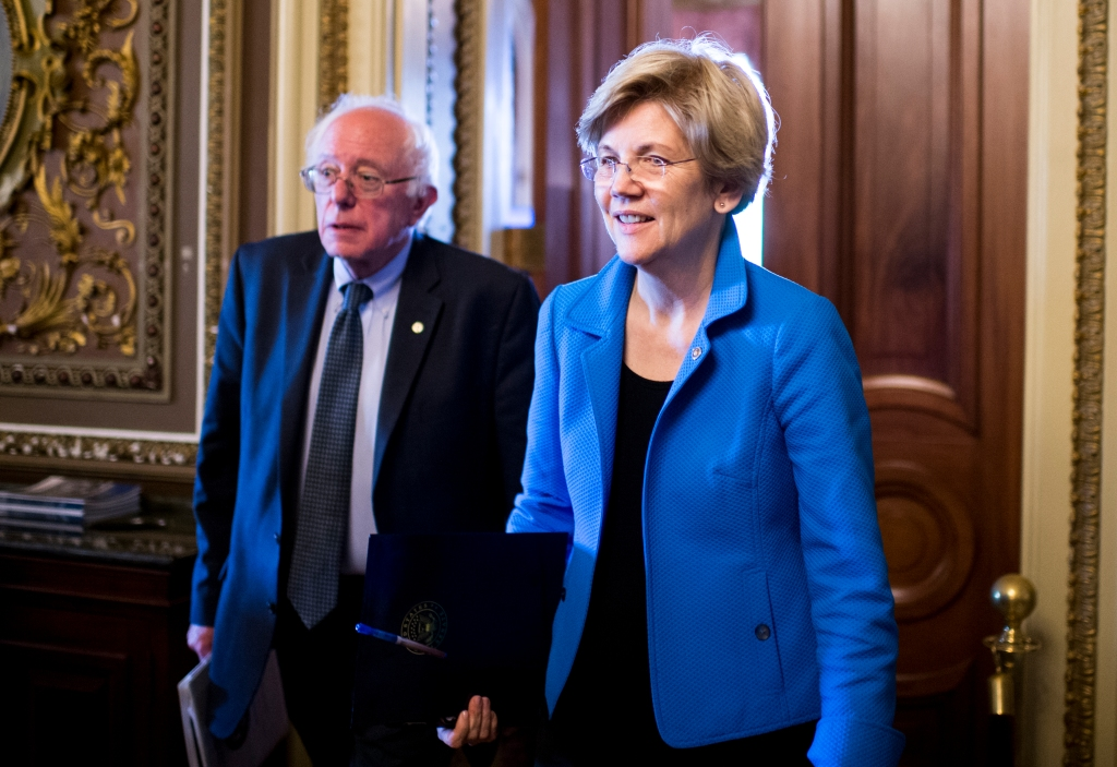 Sen. Bernie Sanders and Sen. Elizabeth Warren