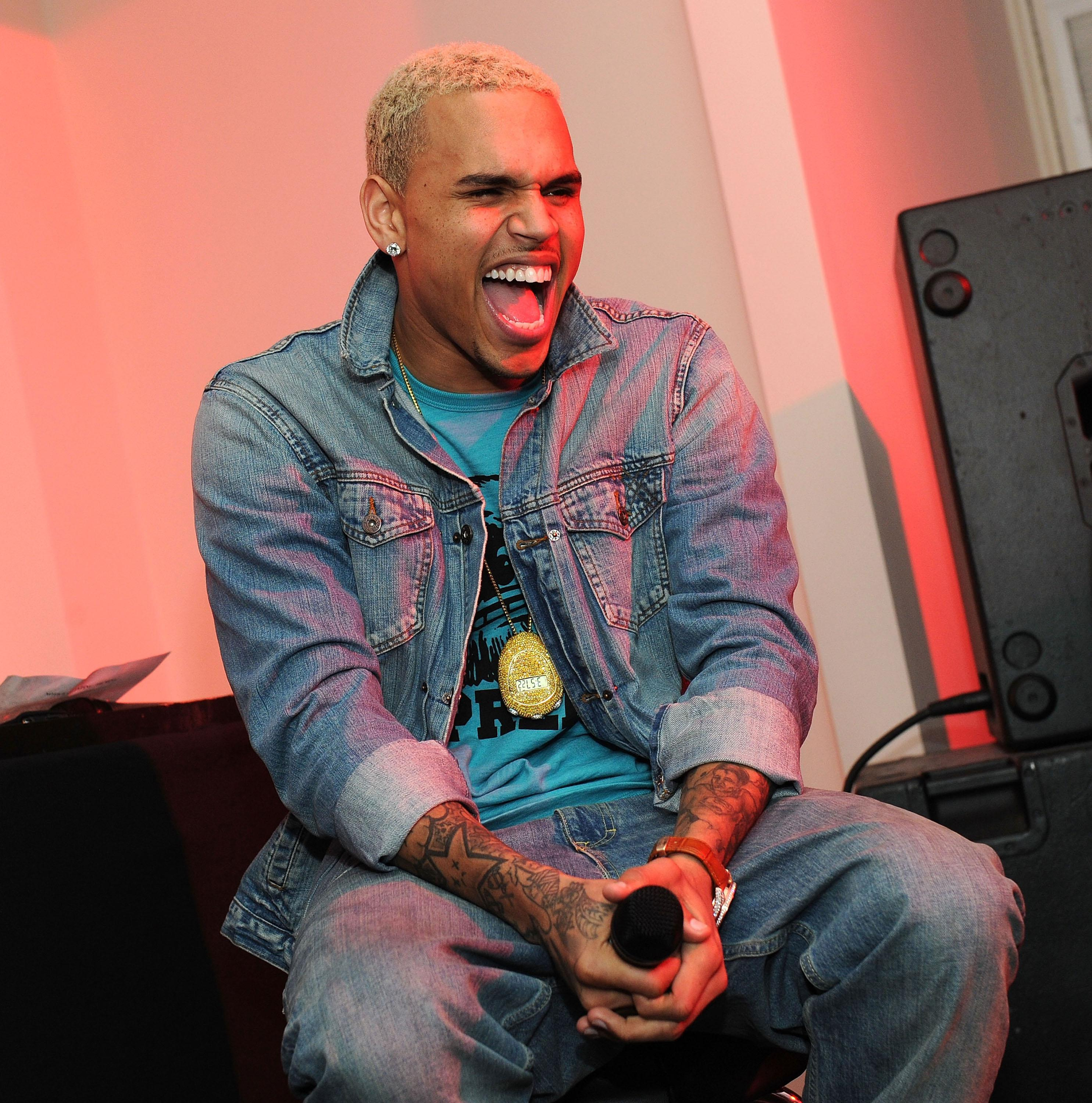 Chris Brown 'Tribute To Team Breezy' F.A.M.E. Secret Listening Session Series - Day 4