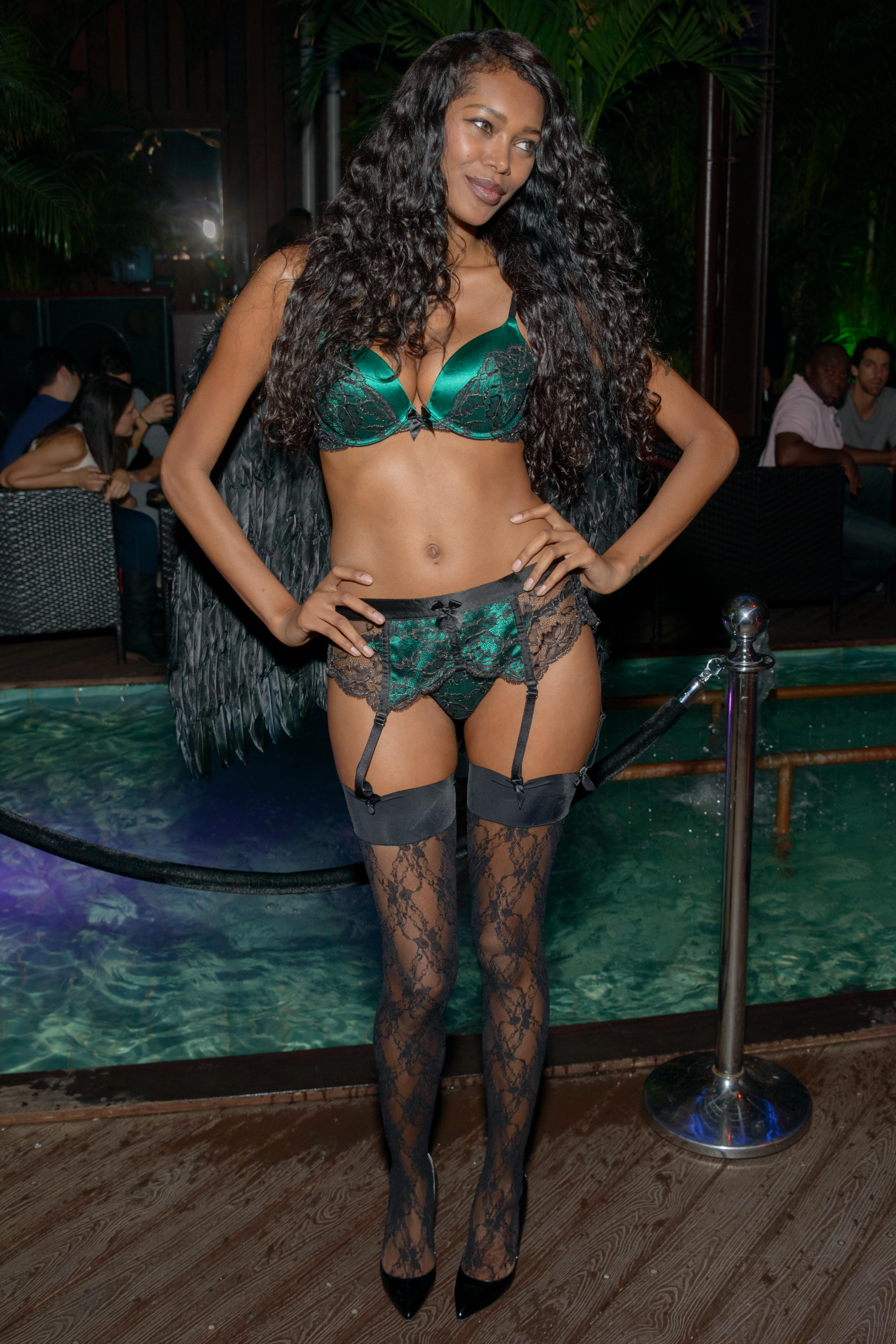 Jessica White's Lingerie Halloween Party