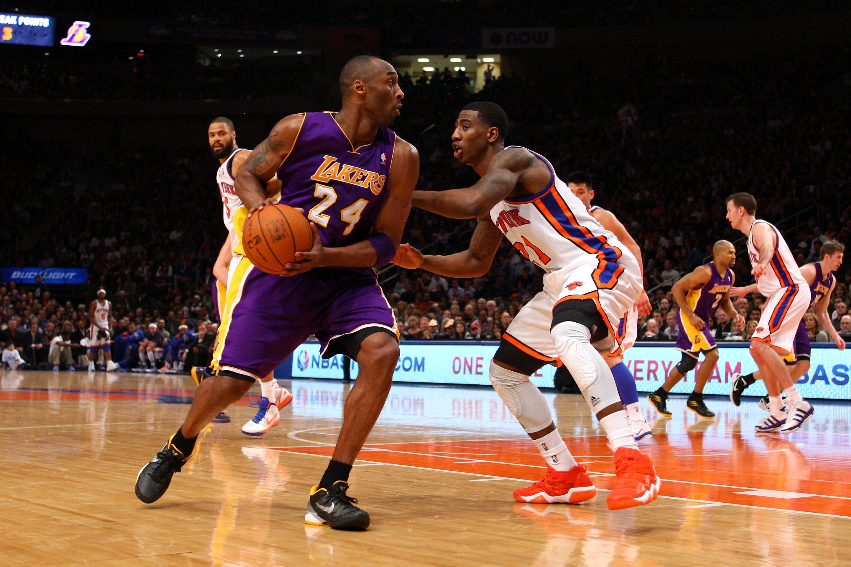 Iman Shumpert Guarding Kobe Bryant