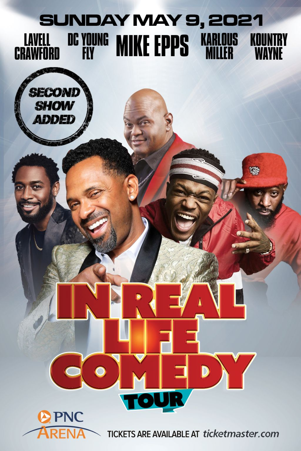 In Real Life Comedy Tour 2nd Show