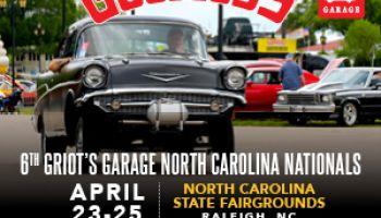 Goodguys 6th Griot's Garage North Carolina Nationals