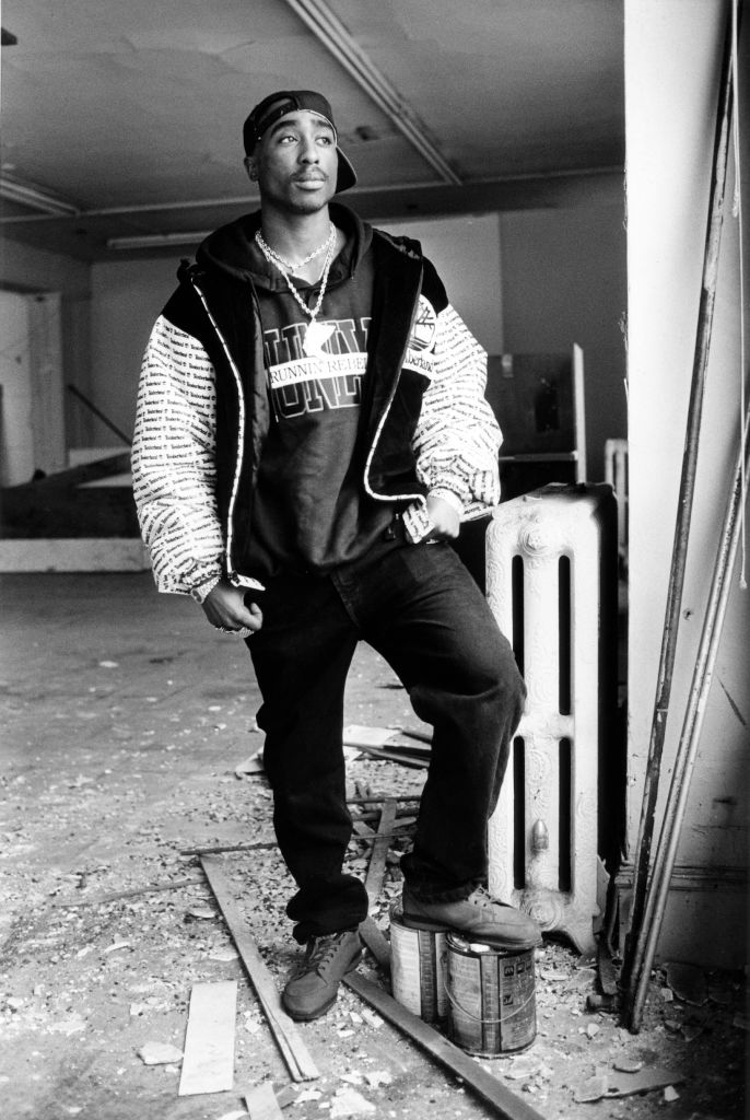 Oakland, CA January 7, 1992 - Tupac Shakur. (Gary Reyes / Oakland Tribune Staff Archives)
