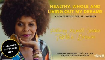 Healthy, Whole and Living Out My Dreams - MONDAY at 10AM